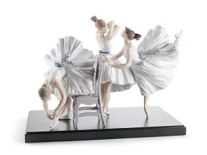 Lladro-Backstage Ballet
