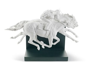 Lladro-HORSE RACE