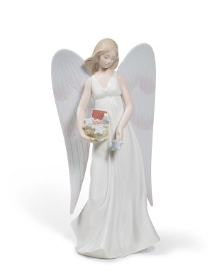 Lladro-Angelic Stars Tree Topper