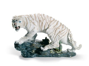 Lladro-MYTHOLOGICAL TIGER