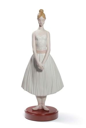 Lladro-Shy Ballerina