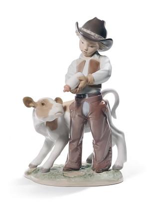 Lladro-Cowboy