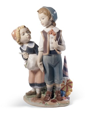 Lladro-HANSEL AND GRETEL
