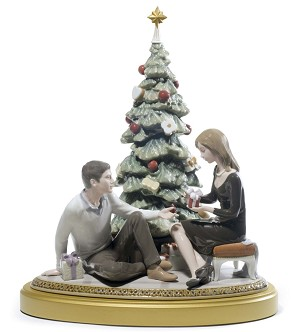 Lladro-A Romantic Christmas