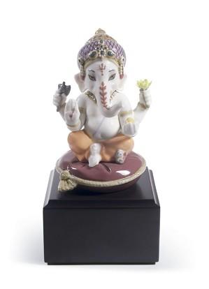 Lladro-Bal Ganesha