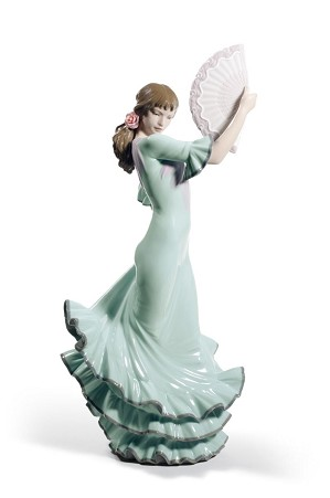 Lladro-Passion and Soul Flamenco Woman