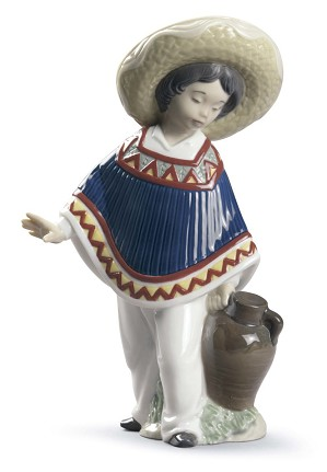 Lladro-Pedro With Jug