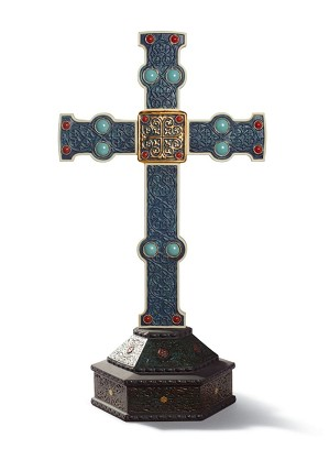 Lladro-Romanesque Cross