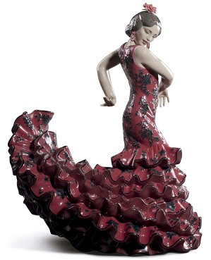 Lladro-Flamenco Flair Woman