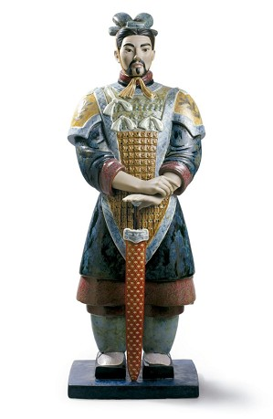 Lladro-Xian Warrior