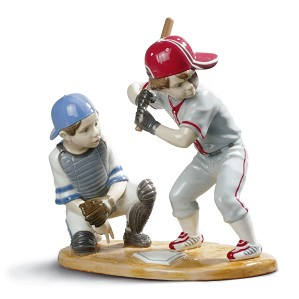 Lladro-Baseball Players