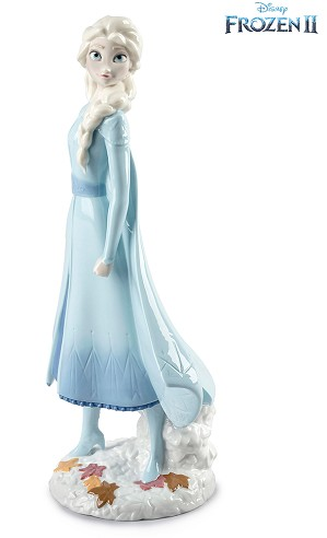 Lladro-Elsa From The Disney Movie Frozen