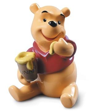 Lladro-Winnie the Pooh Figurine