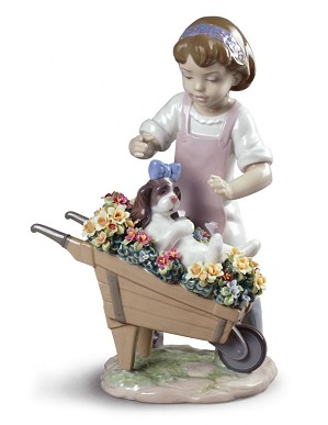 Lladro-Let's Go for A Ride
