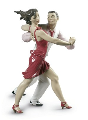 Lladro-Salsa Couple
