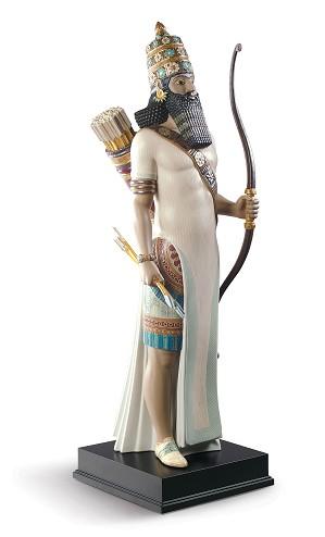 Lladro-Assyrian Archer