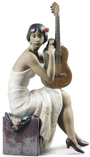 Lladro-THE FLAMENCO SINGER