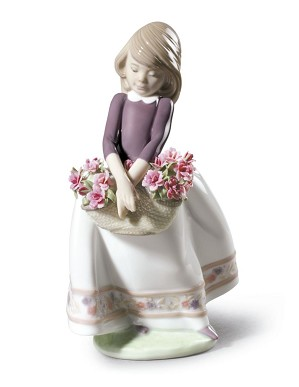 Lladro-May Flowers (Special Version)