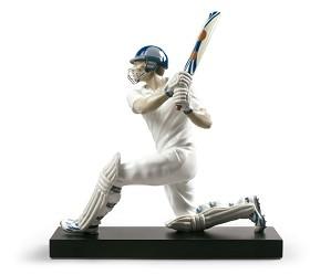 Lladro-Cricket Batsman