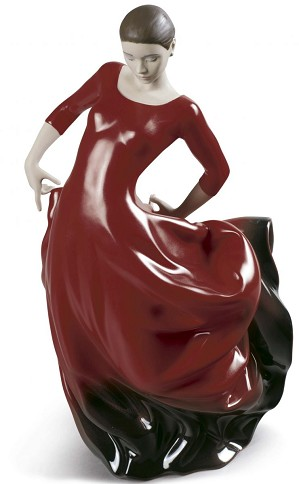 Lladro-Buleria Flamenco Dancer