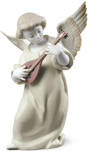 Lladro-Heavenly Strings