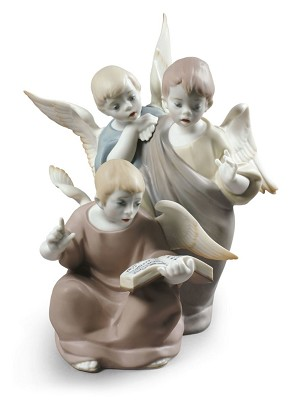 Lladro-Angelic Voices