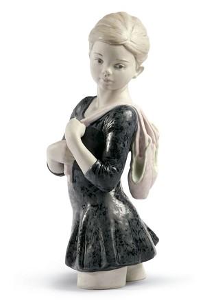 Lladro-My Dance Class Ballet