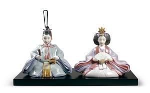 Lladro-Hinamatsuri Dolls