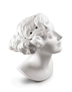 Lladro-Daisy Woman Bust Vase