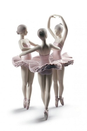 Lladro-Our Ballet Pose Dancers