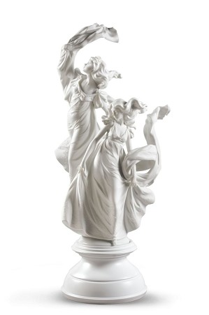 Lladro-Allegory of Liberty Woman
