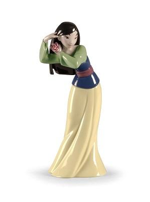 Lladro-Mulan