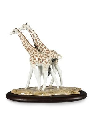 Lladro-Giraffes
