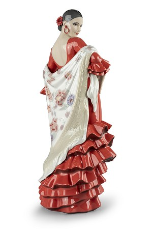 Lladro-Flamenco Soul Woman