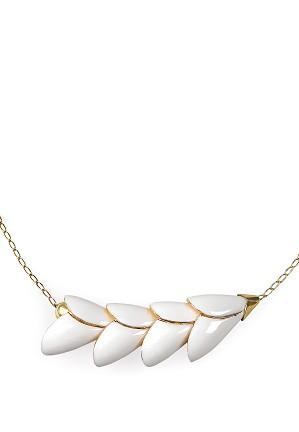 Lladro Jewelry-Heliconia 4 Petals Pendant