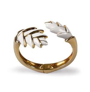 Lladro Jewelry-Heliconia Hinge Cuff
