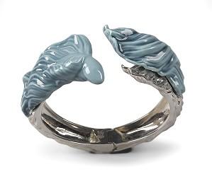 Lladro Jewelry-Aquarium Hinge Cuff