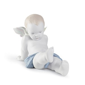 Lladro-SITTING ON THE CLOUDS