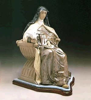 Lladro-SAINT THERESA