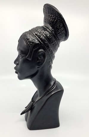 Lladro-HEAD OF CONGOLESE WOMAN