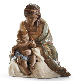 Lladro-LOVING MOTHER