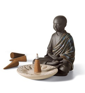 Lladro-INCENSE BURNER (BLACK)