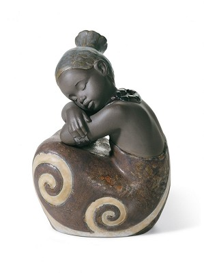 Lladro Pulse Of Africa-AFRICAN GIRL