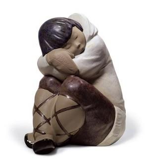 Lladro-Eskimo Slumber (Boy)
