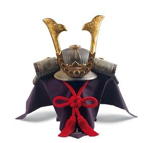 Lladro-Samurai Helmet