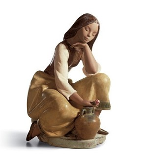 Lladro-CLASSIC WATER CARRIER