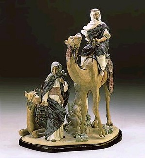 Lladro-DESERT PEOPLE