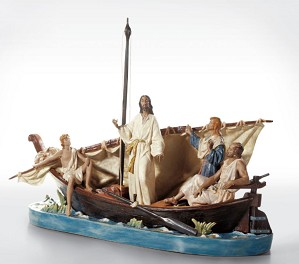 Lladro-JESUS IN THE TIBERIADES