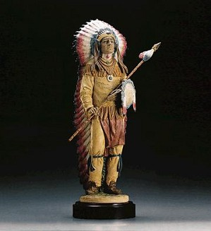 Lladro-PROUD WARRIOR