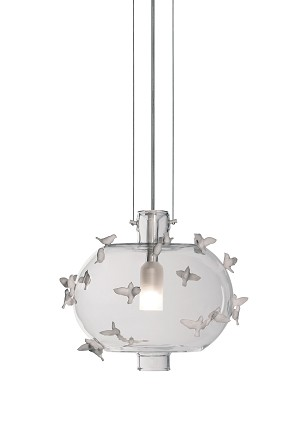 Lladro Lighting-Freeze Frame Birds Ceiling Lamp